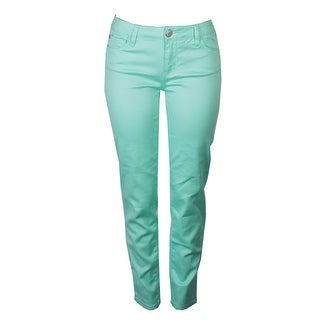 Celebrity Pink Juniors Lucite Green Jayden Skinny Jeans 11