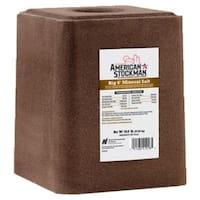 American Stockman 41018T Big 6 Trace Mineral Block Ag Salt, 50 Lbs