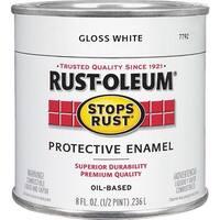 Rust-Oleum White Enamel 7792-730 Unit: HPT