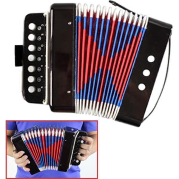 Shop Mini Accordion - Musical Instrument Toy - Free Shipping