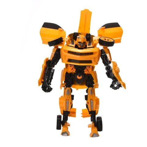 WonderPlay Transformable Car - Yellow