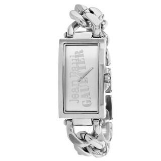 Jean Paul Gaultier Women's Enchainee 8500905 Silver Dial watch