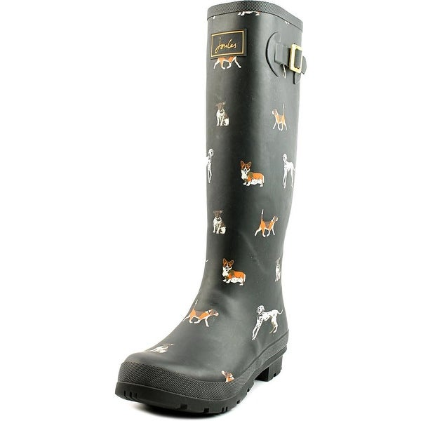 Joules Welly Print Women Round Toe Synthetic Rain Boot