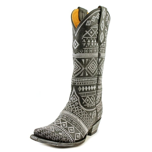 "Old Gringo Zorrilla Stitch 13"" Pointed Toe Leather Western Boot"