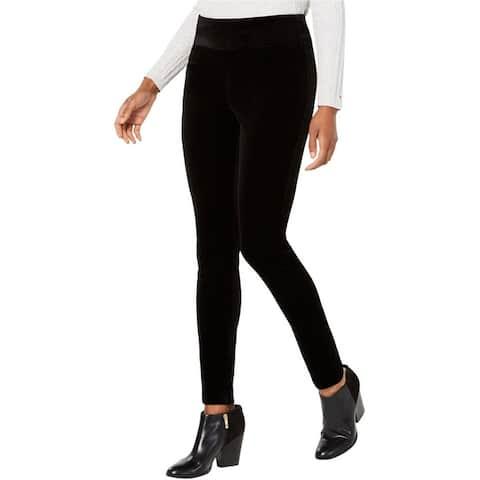Tommy Hilfiger Womens Velvet Casual Leggings