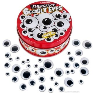 Emergency Googly Eyes With Stick On Adhesive - multi