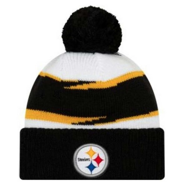 707680dcf Shop New Era 2018 NFL Pittsburgh Steelers Thanksgiving Stocking Knit Hat  Beanie POM - Free Shipping On Orders Over  45 - Overstock.com - 25482350