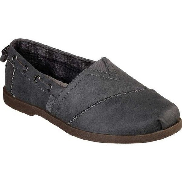 86151537243 Shop Skechers Women s BOBS Chill Luxe Buttoned Up Alpargata Gray - On Sale  - Free Shipping Today - Overstock - 25594416