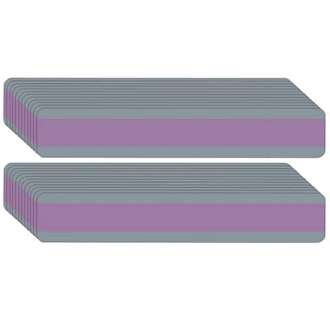"Double Wide Sentence Strip Reading Guide, 1.25"" x 7.25"", Purple, Pack of 24 - One Size"