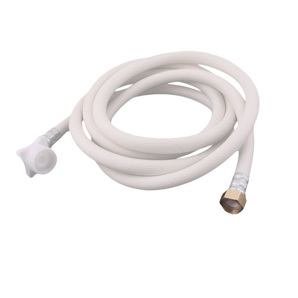 Washing Machine PVC Inlet Water Hose Washer Pipe Connector White 8.2 ...