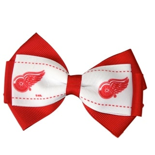 Detroit Red Wings NHL Officially Licensed Hair Bow
