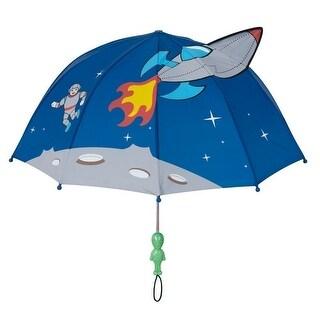 Boys Blue Child Size Lightweight Space Hero Umbrella