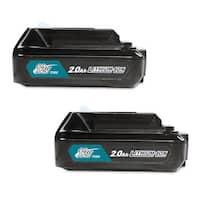 Replacement For Makita BL1021 / BL1021B / BL1016 / BL1041B 2000mAh Power Tool Battery (2 Pack )
