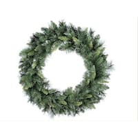 "30"" Linda Mixed Pine Artificial Christmas Wreath - Unlit"