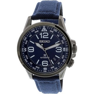 Seiko Men's SRPC31K Grey Leather Automatic Diving Watch
