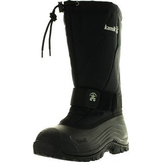 Kamik Mens Greenbays4 Waterproof Snow Boots - Black