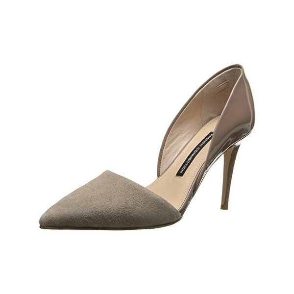 French Connection Womens Elvia D'Orsay Heels Leather