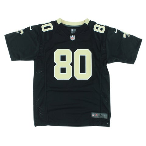 Nike Boys New Orleans Saints Jimmy Graham Game Jersey Black - Black/Tan/White