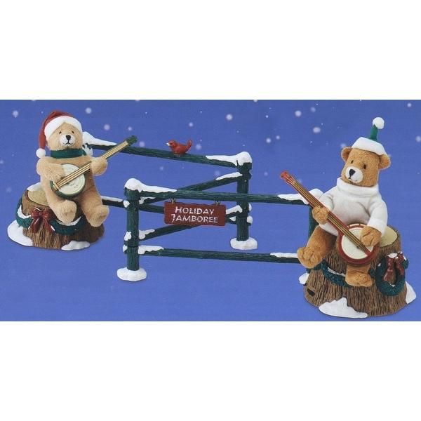 Mr. Christmas Animated Musical Dueling Banjo Bears Decoration #77581