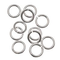 Sterling Silver Open Jump Rings 4mm 21 Gauge (20)