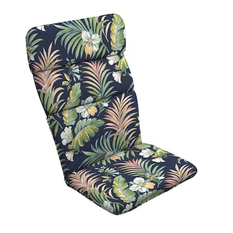 Arden Selections Simone Tropical Outdoor Adirondack Chair Cushion - 45.5 in L x 20 in W x 2.25 in H