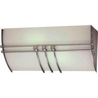 """Volume Lighting V6077 Avila 2 Light 15.5"""" Width Bathroom Vanity Light"""