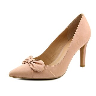 Franco Sarto Aletha Women Pointed Toe Synthetic Pink Heels