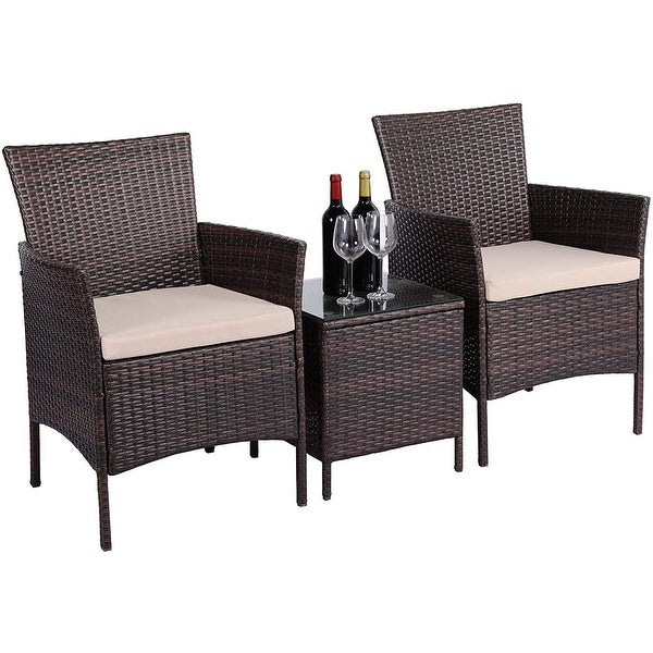 3-piece Patio Bistro Outdoor Furniture Set by Havenside Home. Opens flyout.
