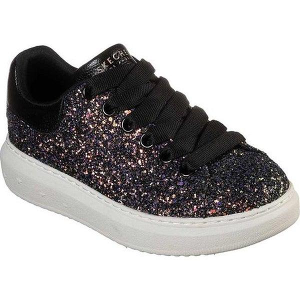 5a828912e918 Skechers Women's High Street Glitter Rockers Sneaker Black/Multi