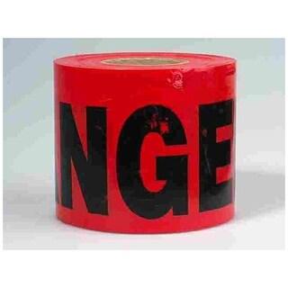 "CH Hanson 15007 Barricade Danger Tape, 3"" x 200', Polyethylene"
