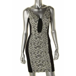 French Connection Womens Animal Print Sleeveless Casual Dress - 4