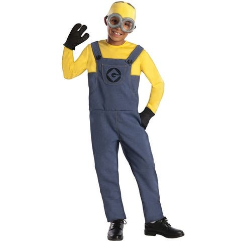 Rubies Despicable Me 2 Minion Dave Child Costume - Yellow/Blue