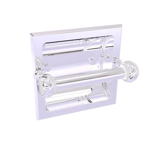 Allied Brass Pacific Grove Collection Recessed Toilet Paper Holder with Twisted Accents