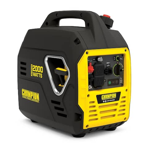 Champion 2000-Watt Ultralight Portable Inverter Generator