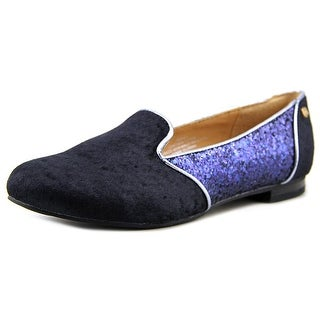 Iman 255461 Round Toe Suede Flats