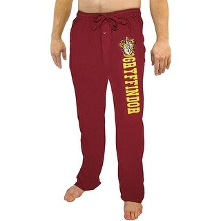 Harry Potter Hogwarts Houses Men's Colored Pajama Lounge Pants