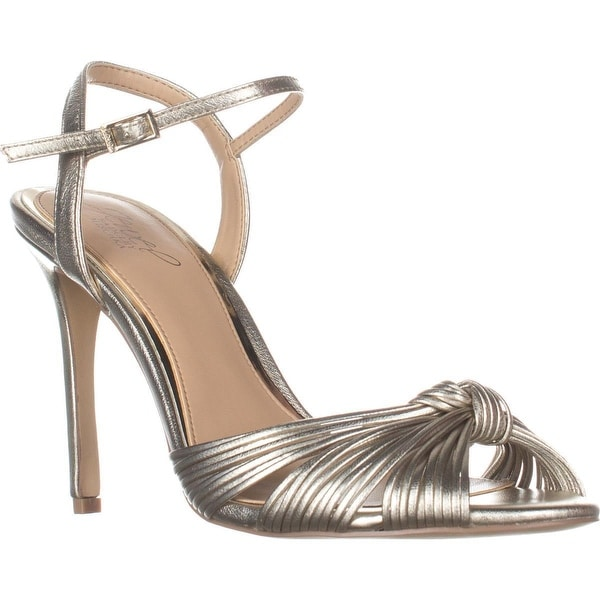 Jewel by Badgley Mischka Lady Knot Sandals, Gold - 8.5 us