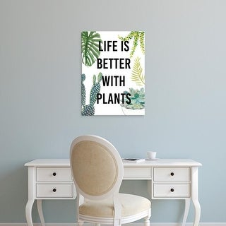 Easy Art Prints Studio W's 'Plant Love III' Premium Canvas Art