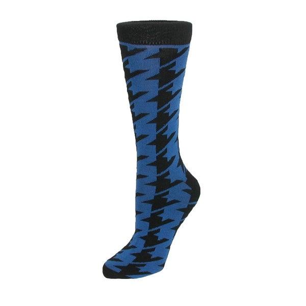 CTM® Men's Houndstooth Dress Sock
