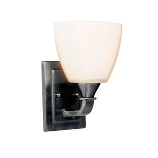 "Jeremiah Lighting 169061 Lawton 1 Light Wall Sconce - 9"" Tall"