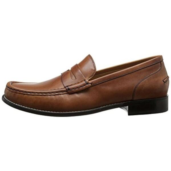 4c60e40e478 Shop Cole Haan Mens Britton Leather Closed Toe Penny Loafer - 10.5 ...