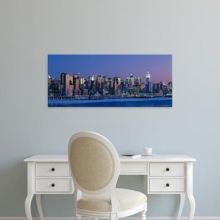 Easy Art Prints Panoramic Images's 'New York City NY' Premium Canvas Art