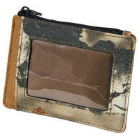 Legendary Whitetails High Impulse Canvas  Front Pocket Wallet - bg field - One size