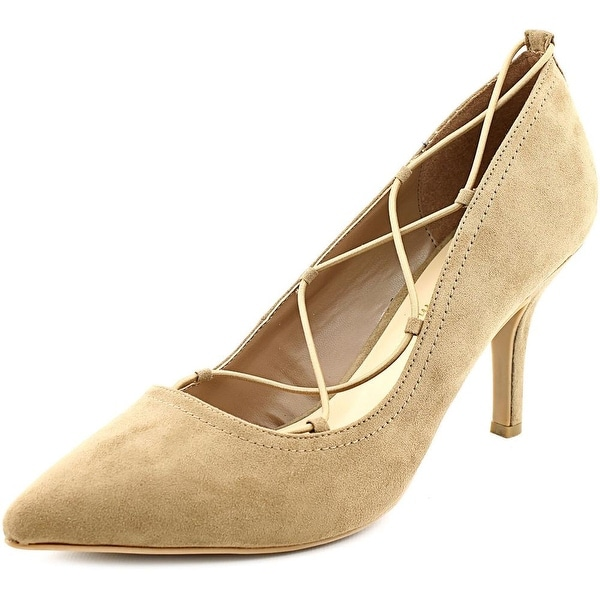 Ann Marino by Bettye Muller Kalysta Women Pointed Toe Suede Brown Heels