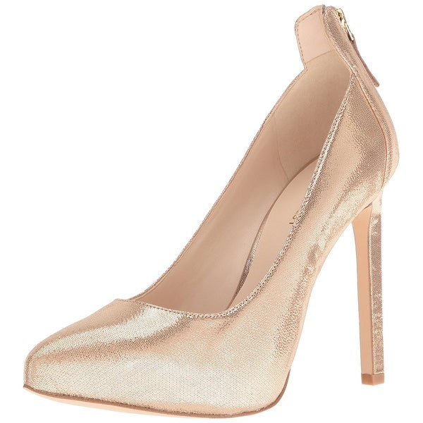 Nine West Women's Lovelost Metallic Dress Pump