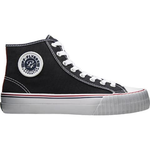 PF Flyers Center Hi Black Canvas