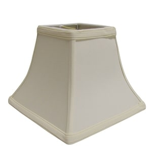 Link to Cloth & Wire Slant Square Bell Hardback Lampshade with Washer Fitter, Egg Similar Items in Lamp Shades