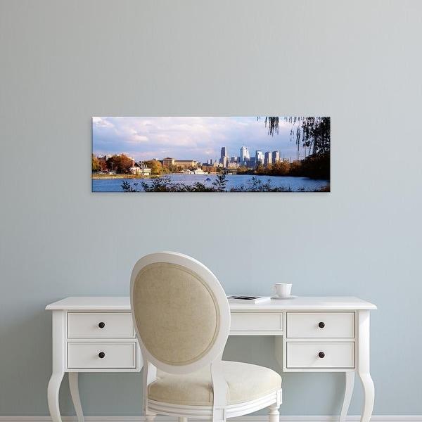 Easy Art Prints Panoramic Images's 'Philadelphia PA' Premium Canvas Art