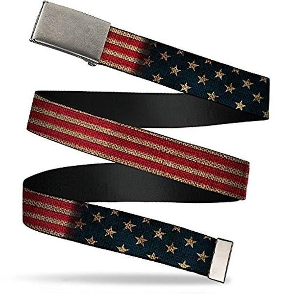 "Buckle-Down Web Belt United States 1.5"""