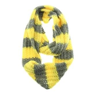 Tucker + Tate Womens Crochet Striped Infinity Scarf - o/s